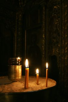 Free Candles Royalty Free Stock Image - 7930186