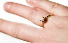Free Engagement Ring Royalty Free Stock Photo - 7930425