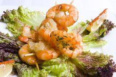 Free Shrimp S Salad Royalty Free Stock Photos - 7930428