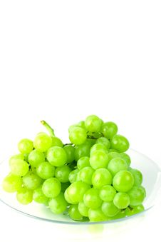 Free Green Grapes In Bowl Stock Photos - 7930863