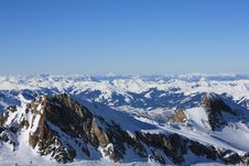 Free Austria. Mountains. The Alpes. Royalty Free Stock Photos - 7931038