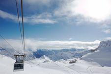 Free Ski Resort Royalty Free Stock Photo - 7931045