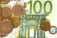 Free Euro And Coins Stock Photo - 7931080