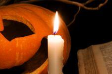 Free Pumpkin Royalty Free Stock Image - 7931086