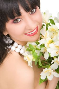 Free Pretty Woman Portrait Royalty Free Stock Photography - 7931087