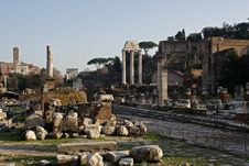 Free Forum Romanum Royalty Free Stock Photos - 7931378