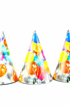 Free Party Hats Stock Images - 7931634