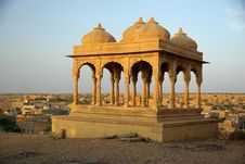 Free Rajput Tombs, Rajasthan Stock Images - 7931734