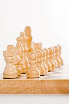 Free Chess - White Figures Stock Photo - 7932030