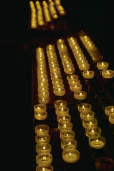 Free Church Candles Royalty Free Stock Image - 7932546