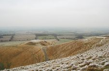 Free White Horse Hill Stock Photography - 7932612