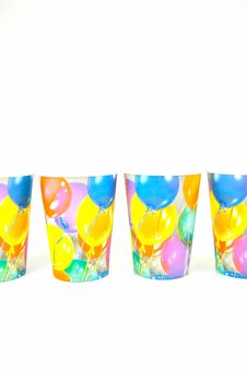 Free Party Cups Royalty Free Stock Image - 7932936