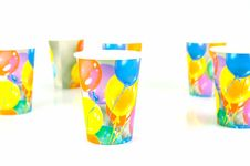 Free Party Cups Royalty Free Stock Image - 7932976