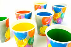 Free Party Cups Royalty Free Stock Photo - 7932985