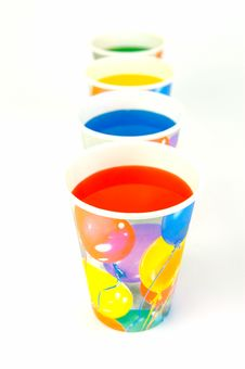 Free Party Cups Stock Image - 7932991