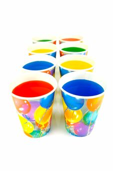 Free Party Cups Stock Images - 7932994