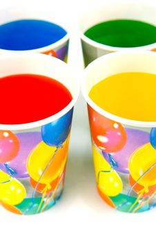 Free Party Cups Stock Image - 7933061