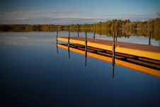 Free Still Lake Royalty Free Stock Photo - 7933345