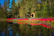 Free Kayaks On Shore Royalty Free Stock Image - 7933346