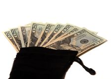Free Money Bag Stock Photo - 7933560