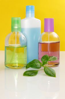 Free Perfumery Bottles Royalty Free Stock Photography - 7933917