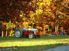 Free Fall Tractor Stock Photo - 7933940