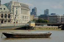 Free Boats On The Thames Stock Image - 7934411