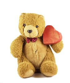 Free Valentine Teddy Royalty Free Stock Photography - 7934637