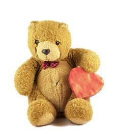Free Valentine Teddy Stock Images - 7934674