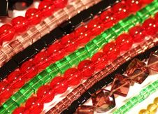 Free Colourfull Bead Strips Stock Photography - 7934952