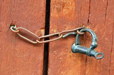Free Old Lock And Chain Royalty Free Stock Images - 7935349