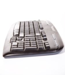 Computer Keyboard. Royalty Free Stock Photo