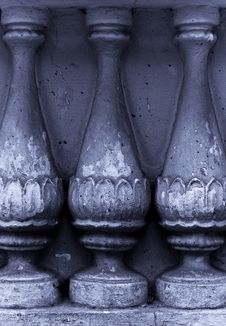 Free Ancient Grunge Colonnade Background Royalty Free Stock Image - 7935586