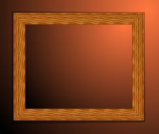 Frame Wood Stock Image