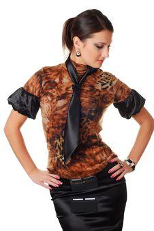 Free Beautiful Brunet Woman Stock Photos - 7935793