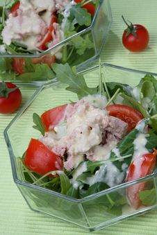 Free Mixed Salad With Strait Royalty Free Stock Photos - 7935918