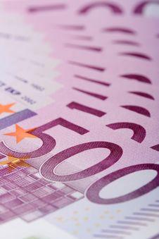 Free 500 Euro Banknotes Royalty Free Stock Photo - 7936255