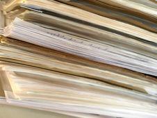 Free Old Folder In Italian Office Stock Photo - 7936300
