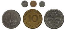 Free Germany And France; Coins Off Course Stock Photo - 7936460