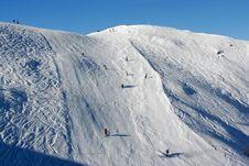 Free Alps Snow Route Royalty Free Stock Photo - 7936575