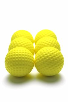 Free Golf Balls Royalty Free Stock Images - 7936839