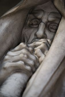 Free Mortal Statue From A Graveyard Stock Image - 7937241