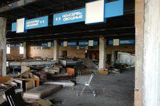 Free Abandoned  Supermarket Royalty Free Stock Photo - 7937685
