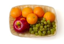 Free Fruit In The Basket Royalty Free Stock Images - 7937789