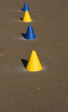 Free Skater Cones Royalty Free Stock Photos - 7937828