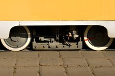 Free Tram Wheels Royalty Free Stock Photo - 7937845