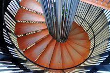 Spiraling Stairs Stock Photo
