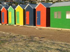 Free Beach Huts Royalty Free Stock Photos - 7938408