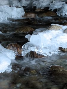Free Frozen River Royalty Free Stock Photo - 7939005