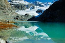 Free Glacier Lake Stock Photography - 7939152